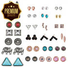 25Pairs Small Cute Simple Mixed Design Modern Style Bohemia Retro intage...
