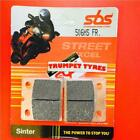 Horex 600 Columbus 87 > ON Front Brake Sinter Pads Set OE QUALITY 506HS