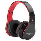 AT-BT809 Foldable Wireless Bluetooth Headphonee Headset With Mic FM TF