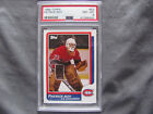 Patrick Roy 1986 Topps #53 RC PSA 8 NM-MT Near Mint HOF Rookie Centered