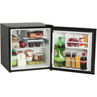 One-Door Compact Refrigerator Separate chiller compartment 1.6 cu ft Space Black