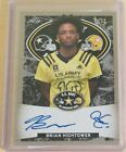2018 Leaf Metal US Army All-American Bowl Football Cards - Trevor Lawrence Autographs 18