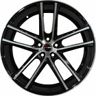 4 GWG Wheels 18 inch Black Machined ZERO Rims fits FORD TRANSIT CONNECT 2010 18