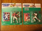 Starting Lineup NFL 1996-7 San Francisco 49ers Jerry Rice & Steve Young figures