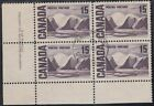 Canada Scott 463 LL Pl 2 Used 1967 73 Centennial Issue
