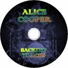 ALICE COOPER ROCK GUITAR BACKING TRACKS CD BEST OF GREATEST HITS MUSIC MP3 PLAY