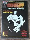 Topps Comics Jason Goes to Hell The Final Friday 1 Glow in the dark cover rare