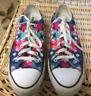 Converse All Star Low Top Multi Color Checks Geometric Sneakers Wo 9 Mens 7