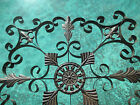 Decorative wrought iron wall panel Grill grate window door ceiling light