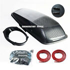 Single 6x9 Speaker Lids CVO Style W Seal For 2014up HD Harley Touring Saddlebags