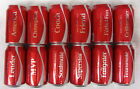 SET of 12 CANS Share a Coke with AMERICA Coca Cola EMPTY 2018