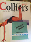 VIN TAGE Collier's Magazine,------ AUGUST 14th, 1937 ISSUE