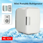 Mini 4L Refrigerator Fridge Portable Travel Auto Car Freezer Cooler Warmer US