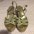 Womens Guess Stylish Wedge Sandals shoes Sz 8 AA