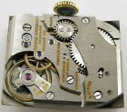Gruen curvex 370 watch movement 17 jewels for parts