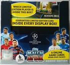 2015-16 Topps Match Attax Champions League Nordic Edition Trading Cards Box