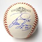 Tim Lincecum Javier Lopez Autographed Signed Ball 2014 2012 2010 WSC SF Giants