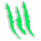 12 Monster Claws Headlight Scratch Decal Holidays Halloween Decor Sticker