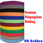 1 2 1.5 Inch Polypropylene Webbing Tan Orange Nylon Strap 510yard Color