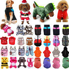 Small Dog Pet Puppy Cat Hoodies Jumper Knit Sweater Clothes Coat Costume Apparel