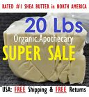 PREMIUM 20 Lb 100%RAW PURE AFRICAN SHEA BUTTER Unrefined Organic IVORY White 9Kg