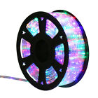 100 Ft LED Rope Light 2 Wire String Fairy Lights Strip Tape Christmas Xmas Party