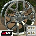 22 inch Chevy Tahoe Factory Style Honeycomb Wheels Chrome Rims 6x1397 +27