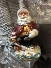 vintage christopher radko christmas ornaments santa