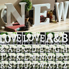 Freestanding Large 3D Wooden Alphabet Letters Wall Hanging Wedding Home Decor