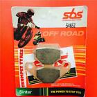 Kawasaki GPZ 250 Belt Drive 83 > 84 SBS Front Off Road Sinter Brake Pads 546SI