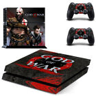 God Of War Theme PS4 Console Skin Sticker PlayStatio 4 Controller Decal + gift