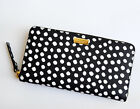 NWT Kate Spade Neda Laurel Way Musical Dots Zip Around Wallet $189
