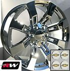 20 inch Chevy Tahoe Factory Style Denali Wheels CK375 Chrome Rims 6x1397 +31