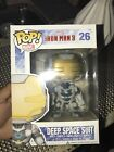 Funko Pop! Marvel Iron Man 3 Deep Space Suit #26 vaulted