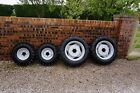 MASSEY FERGUSON TRACTOR WHEELS  TYRES 4 x CONTINENTALS 700 12  280 70R20