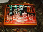 early american prescut 11 piece table service set anchor hocking