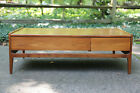 Glenn of California Mid Century Modern Walnut Coffee Table