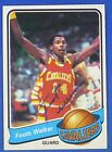FOOTS WALKER autographed  signed 1979-80 Topps Cleveland Cavaliers
