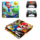 For Palystation 4 PS4 Slim PS4 Controller of Super Mario Game Skin Sticker