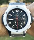 Hublot Big Bang 44 White Ceramic Steel Limited Edition Box Papers 301.SH.131.RW