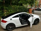 2007 Audi TT White Coupe 20 TFSI Manual Half Suede and black leather