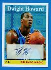 DWIGHT HOWARD GOLD X-FRACTOR 05 15 SSP AUTO 2008 TOPPS
