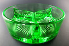 VINTAGE LIME GREEN GLASS E SECTION 5
