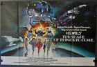 SHAPE OF THINGS TO COME 1979 ORIG 27X39 BRITISH QUAD MOVIE POSTER H G WELLS
