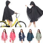 New Women Raincoat Fashion Waterproof Jacket Portable Rain Coat Hood Cape Ponch