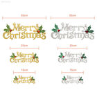 CEA4 Merry Christmas Ornaments Festival Party Door Tree Hanging Letter Decor XMA