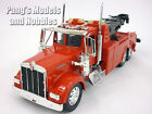 Kenworth W900 Tow Truck Diecast Metal 1 32 Scale Model by NewRay RED