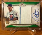 WILSON CONTRERAS 2018 Topps Definitive PATCH ON CARD AUTO /25 Cubs