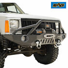 83 01 Jeep Grand Cherokee XJ Front Bumper with Pre Runner HoopLED Lights