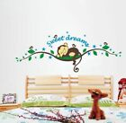 Removable Sweet Dream Monkey Wall Sticker Decal Kid Baby Nursery Room Home Decor